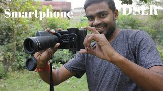 Turn Your Smartphone into DSLR - Smartphone Zoom Lens - Telescope Review & Unboxing