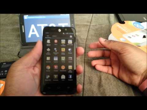AT&T Z998 Unboxing (GoPhone)