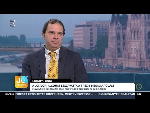 A londoni alsóház leszavazta a Brexit megállapodást - Gálik Zoltán - ECHO TV