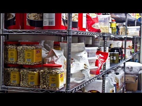 Curso Higieniza��o na Ind�stria de Alimentos - Armazenamento de Produtos