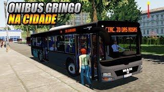 CHEGOU NOVO ONIBUS GRINGO NA CIDADE !!! PROTON BUS SIMULATOR - G27