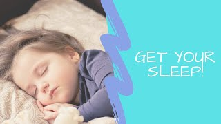 Sleep // Why We Need It // How to Get More of It // Get Better Sleep