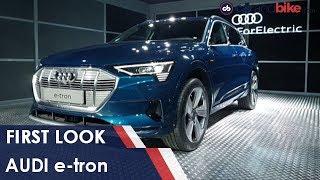 Audi India e-tron First Look | NDTV carandbike