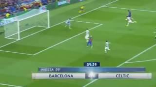 Lionel Messi Hattrick Barcelona vs Celtic 5 - 0 13 09 2016
