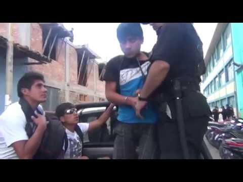 SERENAZGO CAJAMARCA - Desalmados agreden a progenitoras/ Marihuaneros/ 28-05-14