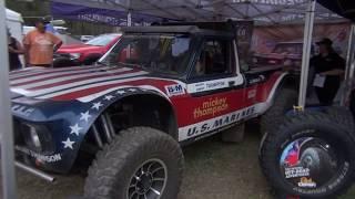 mickey Thompson race truck at tuff trucks 2018 it got 454 listen to it start