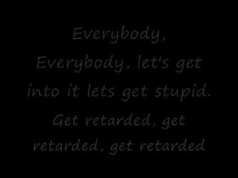 Black eyed peas lets get retarded lyrics