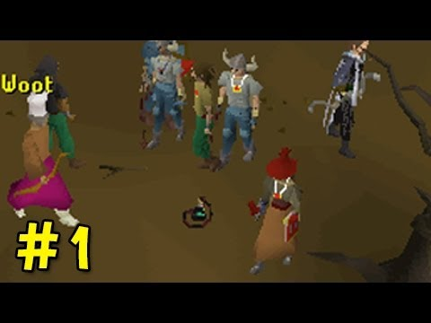 "So Wreck3d Pking Marathon Day #1 - ""My First Whip Smite"" - Runescape 2007"