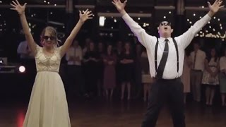 Father, Daughter Surprise Wedding Guests with Epic Dance