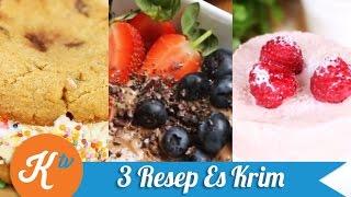 3 Resep Es Krim
