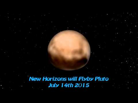 CGI Pluto using New Horizons Imagery (from June 27-July 3rd)