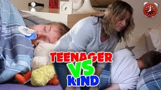 Teenager vs Kind - Morgenroutine 😴