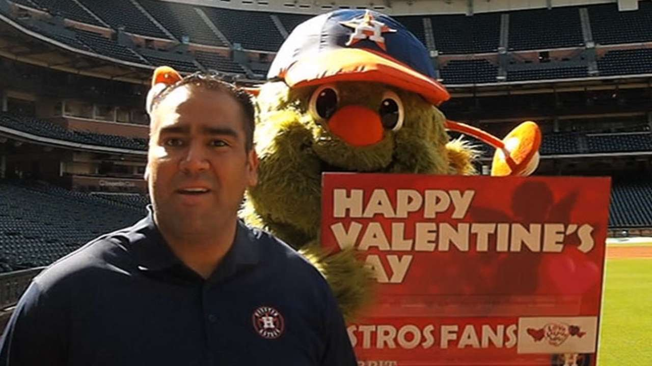 Astros' Orbit getting ready for upcoming season