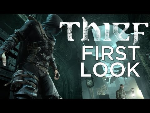 THIEF (2014) First Look and Details! Adam Sessler talks to Eidos Montreal's Lead Level Designer