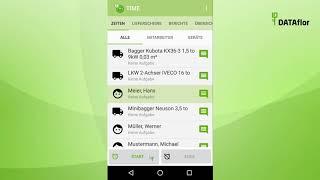 DATAflor TIME App - Tipps & Tricks beim Import