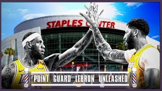 Lebron At Point Point Guard (With Anthony Davis) Is A PROBLEM - Barbershop talk (Episode 65)
