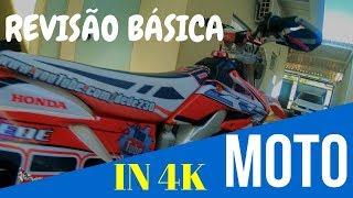 TROCA DE ÓLEO E FILTRO DE ÓLEO | MOTO IMPORTADA CRF 250X 4K
