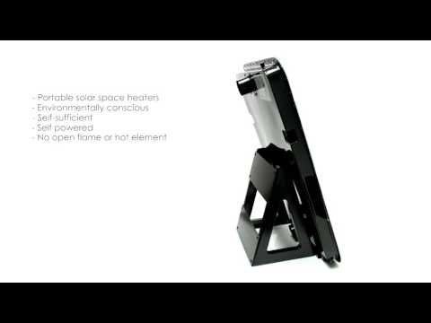 Portable Solar Air Heaters. Promo Video