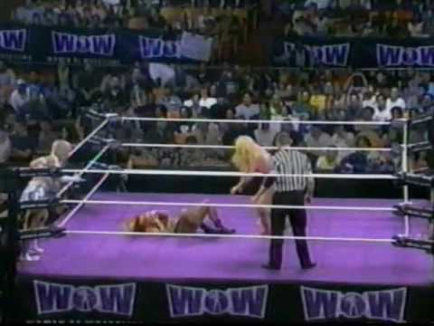 Women Of Wrestling - Unleashed Ppv: Part 13 - Lana Vs Patti Vs Poison Vs Ice Cold (hair Match) video