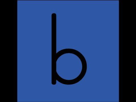 Letter B Song video