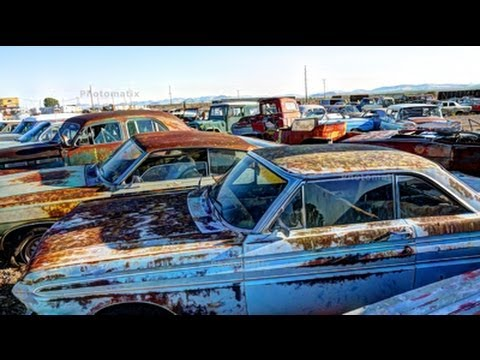 Graveyard of Classic Cars - Arizona - Las Vegas Tourist Attraction