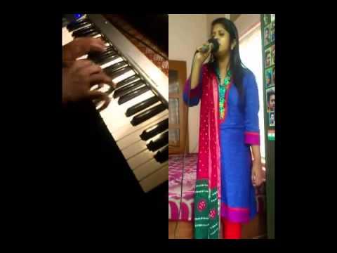 Nin Danam Njan Anubhavichu (singer:anu Matthewh Dubai) video