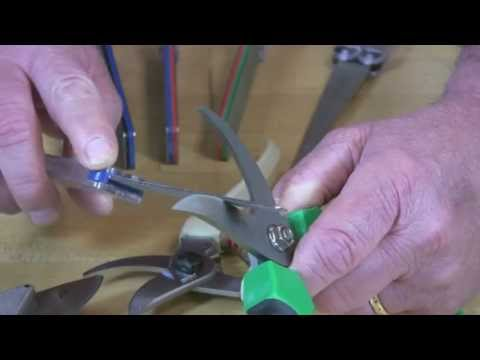 Video of Diafold® Flat File Sharpening By Pass Pruners