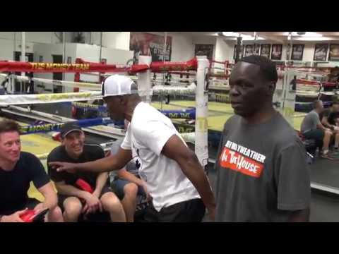 Floyd Mayweather & Jeff Mayweather have contest to see who is faster