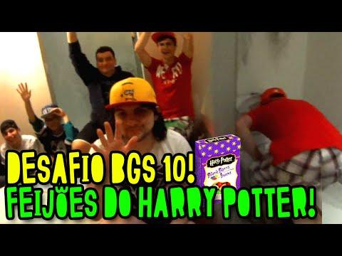 DESAFIO BGS #10 - FEIJÕES DO HARRY POTTER! O REZENDE VOMITOU!!