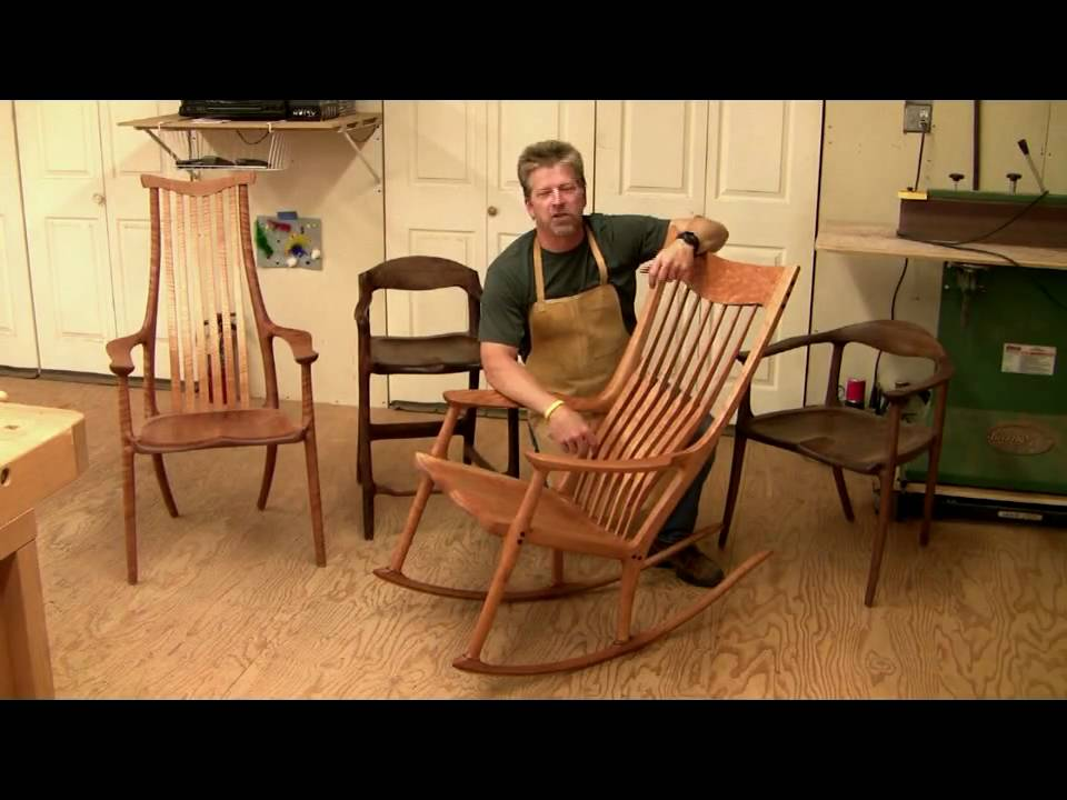 Learn how to Build a Maloof style Rocking Chair - 6 hrs of HD ...