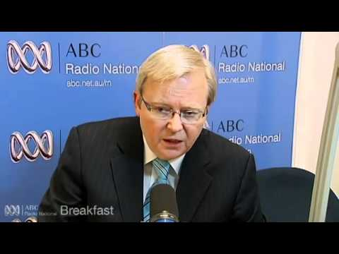 Kevin Rudd returns from Burma visit - ABC Radio National Breakfast