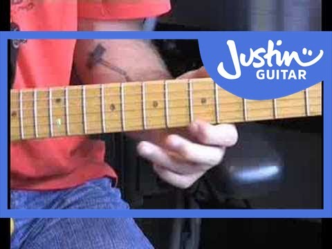 BL-018 • Blues Lead Guitar #8 - Linking Positions Video