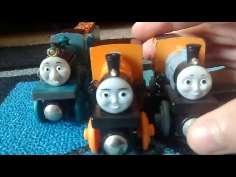 Wooden Railway Review of Bash Dash and Ferdinand!!