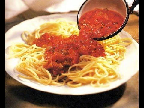 Соус из томатной пасты, лука и чеснока к макаронам, рыбе, мясу / Илья Лазерсон / Обед безбрачия