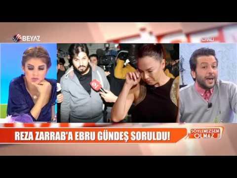Reza Zarrab'a, Ebru Gündeş soruldu