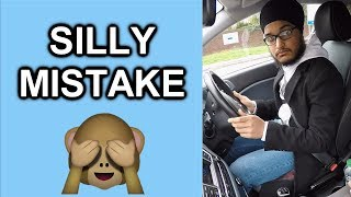 What A Silly Mistake On Your Driving Test - He Almost Passed!