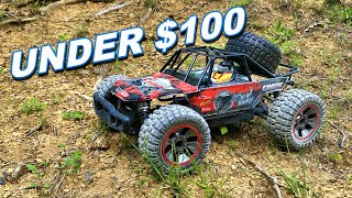 $100 RC Car 1/10 Scale 4WD Worth It?  Hill Climb Challenge - TheRcSaylors