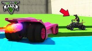 GTA V Online: MOTOS vs BATMÓVEL - DESTRUÍ FOI GERAL!!!