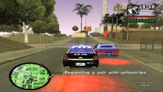 [HD]GTA:SA SAPD:FR v2.5 Traffic Stop Gone Wrong