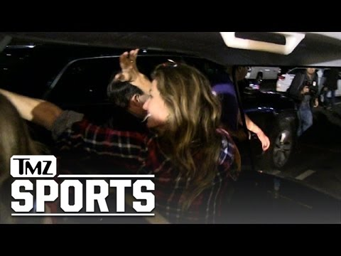Gisele Bündchen -- Parking Lot V.I.P. ... After Super Bowl Win