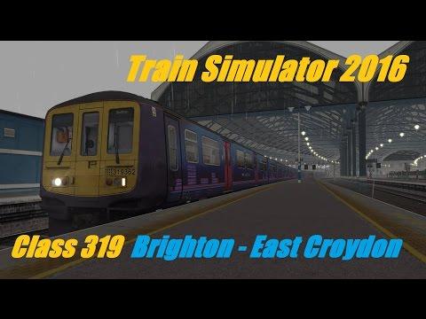 Train Simulator 2016. City Flyer. Class 319. Brighton - East Croydon