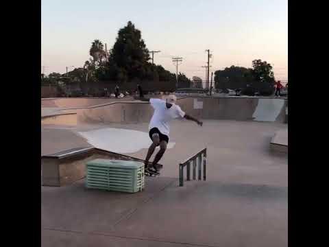 Tre to late nollie tre ✨🧙🏽♂️✨ @_jordanmourning 📲: @izayahkidd | Shralpin Skateboarding