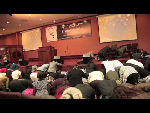 Prophet Brian Carn Altar Call at New Beginning Fellowship of Sacramento, CA
