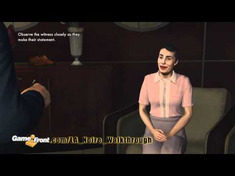 LA Noire Walkthrough - PT. 4 - Story Mission 4 - Buyer Beware - Part 1