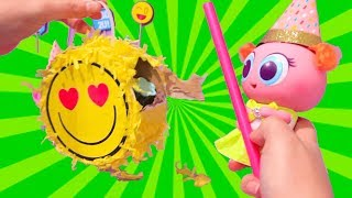 Party Time Again ! Toys and Dolls Fun for Kids with Distroller Babies & Toddlers Birthday Bash