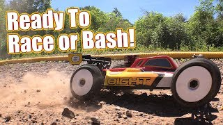 Track Bash Action & Review! - Losi 8IGHT Nitro RTR ⅛ Buggy | RC Driver