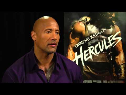 Hercules Interview With Dwayne Johnson [HD]