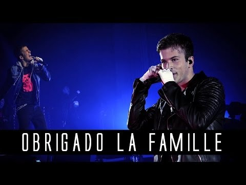 DAVID CARREIRA - Obrigado La Famille feat Dry (Lyrics Video)
