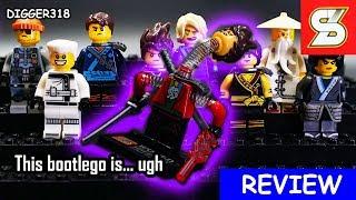 Lego Ninjago Sheng Yuan Bootleg SY684 Evil Ninja Spring Loaded Clowns  Review 4K