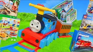 Thomas and Friends Train Toys: Brio Wooden Railway & Lego Duplo Trains Toy Vehicles for Kids
